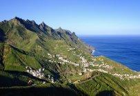 España, Islas Canarias, Tenerife, Montañas Anaga, Taganana - foto de stock