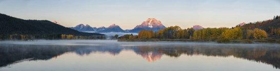 США, Сполучені Штати Америки, Вайомінг, Скелясті гори, Тетон діапазон, Гранд Тітон Національний парк — стокове фото