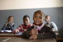 Jalá, Pupils in Fianarantsoa elementary school - foto de stock