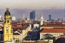 Stadtbild von München, Bayern, Deutschland, Europa — Stockfoto