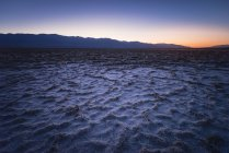 USA, California, Death Valley, Badwater Basin at twilight — Stock Photo
