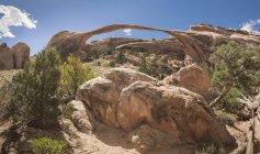 USA, Utah, Arches-Nationalpark, Landscape Arch — Stockfoto