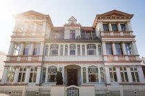Переглянути старі villa Вентура, Німеччина — стокове фото