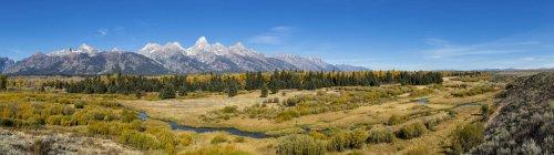 USA, United States of America, Wyoming, Rocky Mountains, Teton Range, Grand Teton National Park — Stock Photo