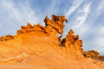 USA, Nevada, Little Finland, sandstone rock formations — Stock Photo