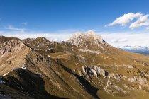 Italia, Alto Adige, valle rocciosa di Villnoess — Foto stock