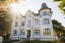 Hotel Germania, spa architecture, Seeheilbad Ahlbeck, Imperial Spas, Usedom, Baltic Sea Coast, Mecklenburg-Vorpommern, Germany — стокове фото