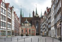 View of old city during daytime, gdansk, Poland — Stock Photo