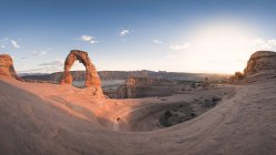 View of arched rock formations during daytime — Stock Photo