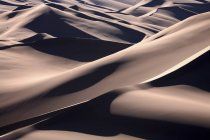 Light and shade on sand dunes — Stock Photo