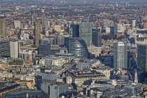 UK, London, skyline with office towers — Stock Photo