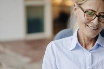 Businesswoman looking away — Stock Photo