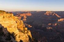 USA, United States of America, au sud-ouest, Arizona, la rivière South Rim, Colorado, Grand Canyon National Park — Photo de stock