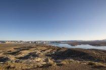 USA, arizona, Lake Powell in der Wüste — Stockfoto