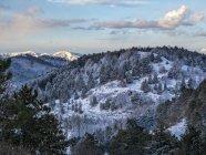 Apennins en hiver après une tempête de neige — Photo de stock