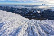 Sunrise on Apennines in Winter — Stock Photo