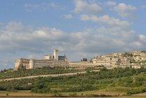 Basilika San Francesco, Assisi, Umbria, Italy — стокове фото