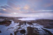USA, United States of America, Wyoming, Montana, Idaho, Yellowstone National Park, Hot Spting — Stock Photo