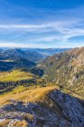Odle range and Funes valley — Stock Photo
