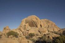 USA, California, rock formations in Joshua Tree National Park — Stock Photo