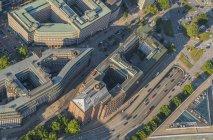Mitte and Kontorhaus Quarter — Stock Photo
