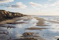 Dinamarca, Jutlândia do Norte, Costa íngreme e falésias — Fotografia de Stock