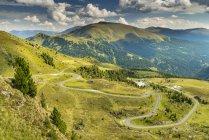 Autriche, Hohe Tauern, Nockalm Scenic Road dans les montagnes de Nock — Photo de stock