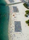 Spagna, Maiorca, veduta seriale della spiaggia di Santa Ponca — Foto stock