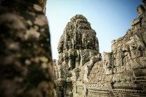Cambogia, Angkor Wat, Angkor Thom, tempio di Bayon — Foto stock