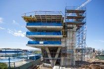 Кейптаун, Південна Африка, офісної будівлі будівельний майданчик — стокове фото