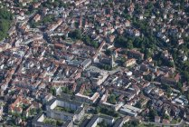 Germany, Eisenach, aerial view of the old town — Stock Photo