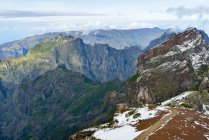 Portugal, Madeira, mountains in Madeira Natural Park — Stock Photo