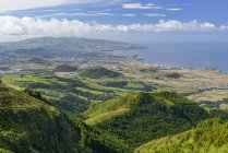 Portugal, Azores, Sao Miguel, View of the West side during daytime — Stock Photo