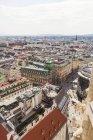 Австрії, Відень, міський пейзаж з торгової вулиці Грабен — стокове фото