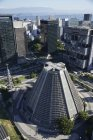 Бразилія, Ріо-де-Жанейро, повітряна фотографія собору в центрі міста — стокове фото