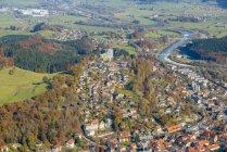 Alemanha, Bavaria, Immenstadt, paisagem urbana, como pode ser visto de chifre Immenstaedter — Fotografia de Stock