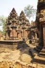 Templo de Banteay Srei Angkor, Camboja — Fotografia de Stock