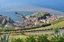 Portugal, Madeira, view of Camara de Lobos, south coast — Stock Photo