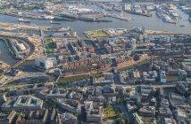 Speicherstadt district in Hamburg — Stock Photo