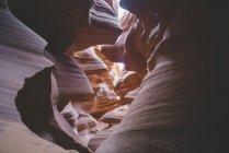 Beautiful Antelope Canyon — Stock Photo