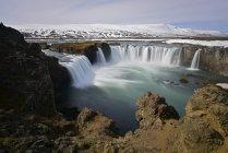 Водопад Годафосс — стоковое фото
