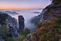 Saxon Switzerland National Park — Stock Photo