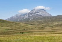 Великобритания, Шотландия, Внутренние Гебриды, остров Юра, вид на гору Юра каши — стоковое фото