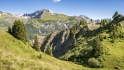 Austria, Vorarlberg, Lechtal Alps, Gipsloecher nature reserve, Grubenalpe — Stock Photo