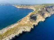 Spain, Mallorca, Palma de Mallorca, Aerial view, Cala Rafeubetx — Stock Photo