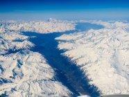 Alpi con neve, Austria — Foto stock