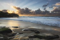 Tamarama, spiaggia al tramonto — Foto stock