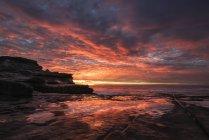 Maroubra, beach in the evening — Stock Photo