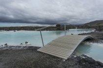 Isola, Halbinsel Reykjanes, Blaue Lagune — Foto stock