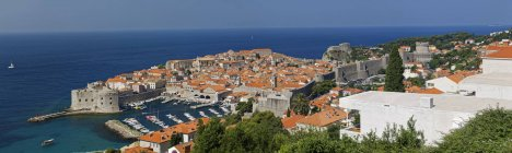 Старе місто Дубровника — стокове фото